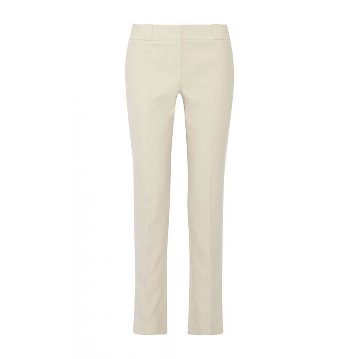 Image for Beige cotton casual trousers
