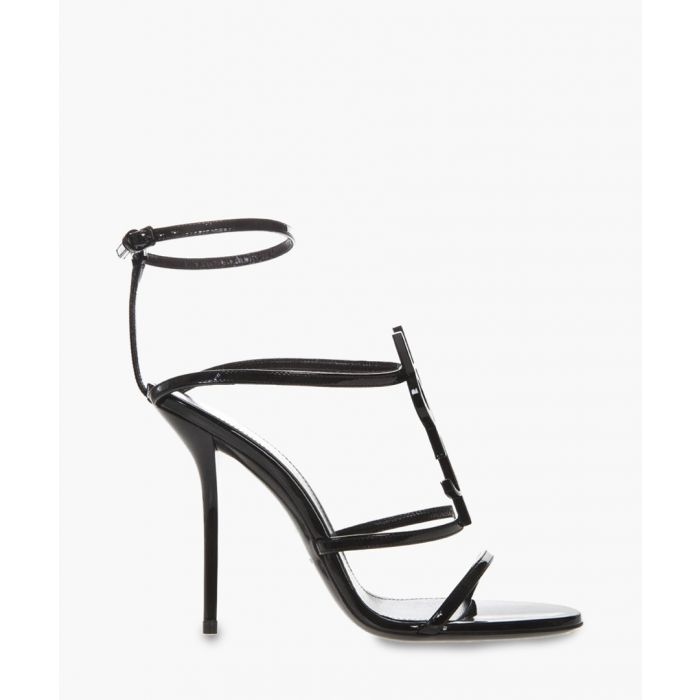 Image for Cassandra black patent leather sandals