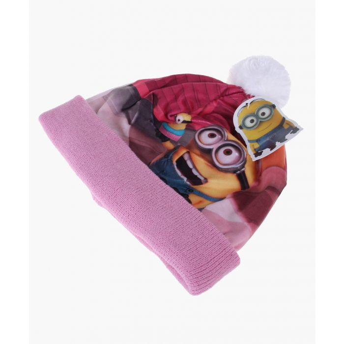Image for Pink Minion beanie