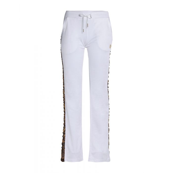 Image for White viscose casual trousers
