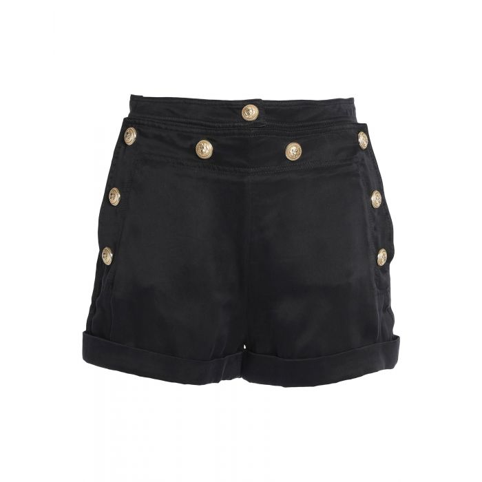 Image for Balmain Woman Black Shorts