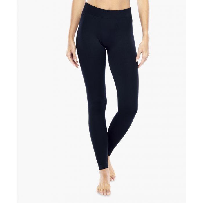 Image for Black Solid Seamless Legging