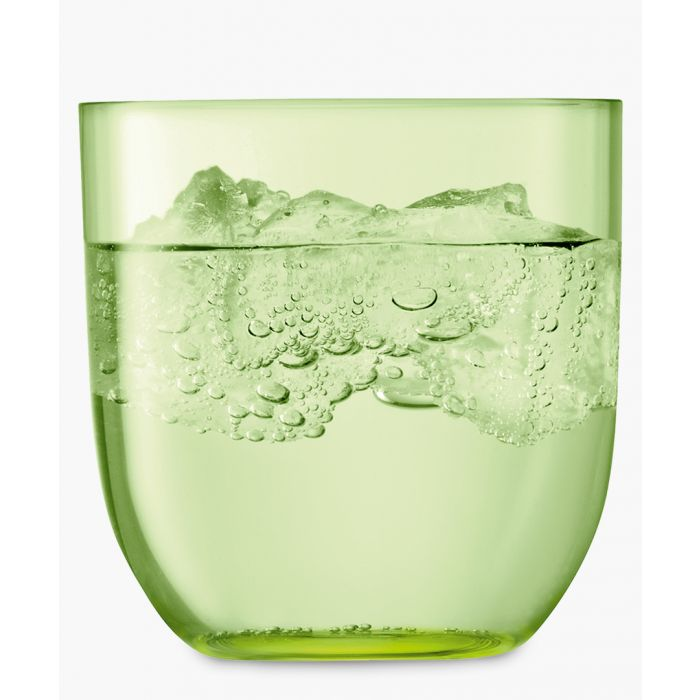 Image for 2pc Pale lime tumbler set