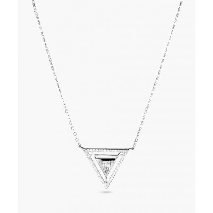 Image for Triangle Constellé sterling silver necklace