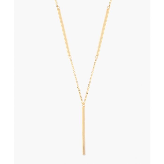 Image for 18k yellow gold-plated necklace
