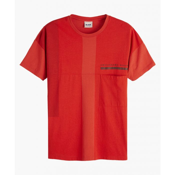 Image for Red oversized T-shirt