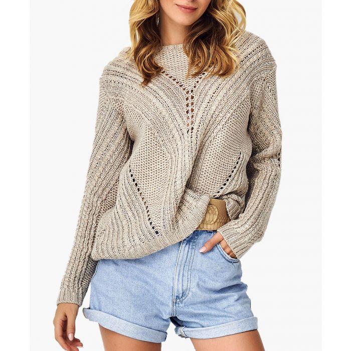 Image for Beige Knitted Jumper