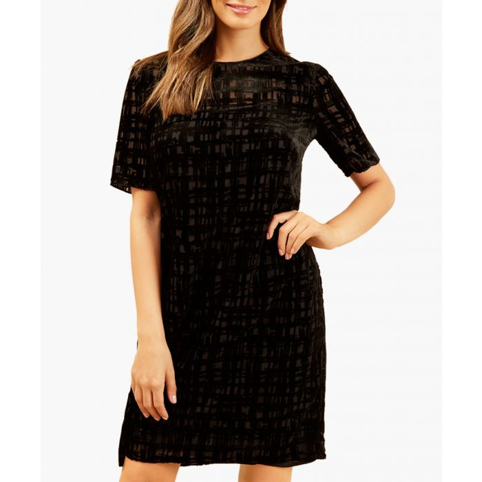 Image for Farrow check mini dress