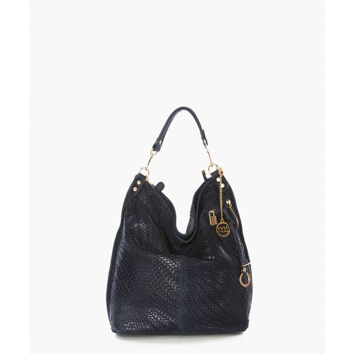 Image for Niguarda navy shoulder bag