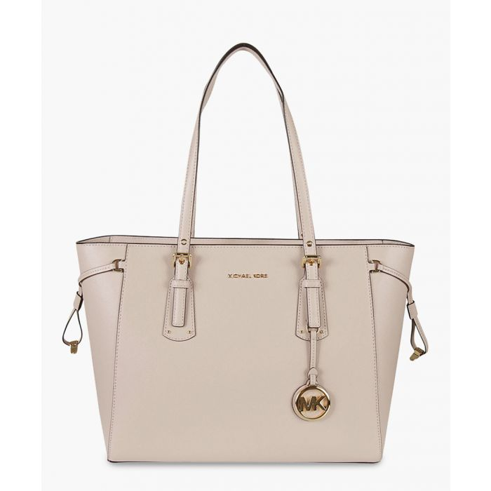 Image for Michael Kors soft pink leather tote bag Shoppers soft pink