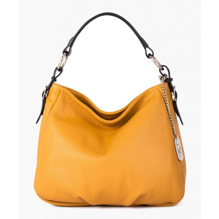 Image for Noemi 1 mustard shoulder bag