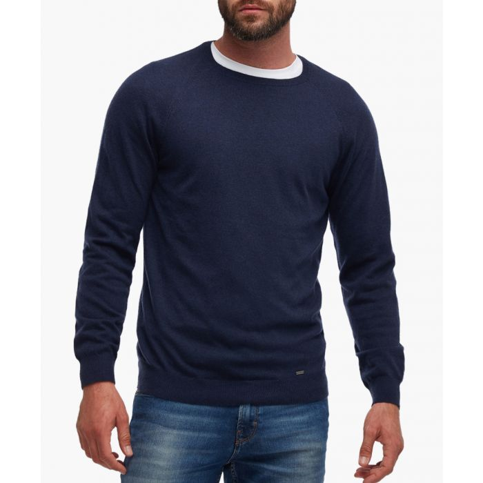 Image for Blue long-sleeve top