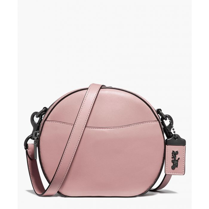 Image for Pink leather crossbody