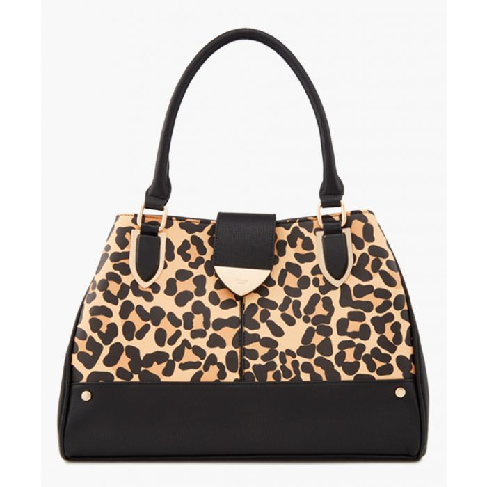 Image for Darlow leopard printed shopper