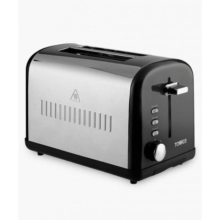 Image for Black 2-Slice toaster