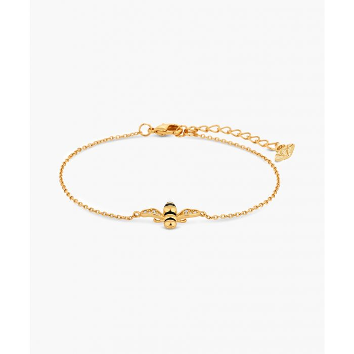 Image for Bee 14k yellow gold-plated bracelet