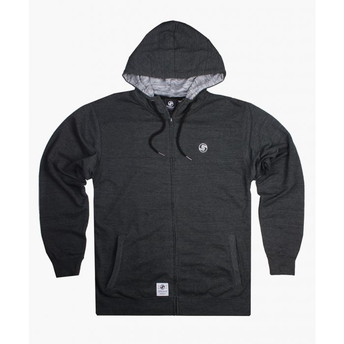 Image for Charcoal zip-up hoodie