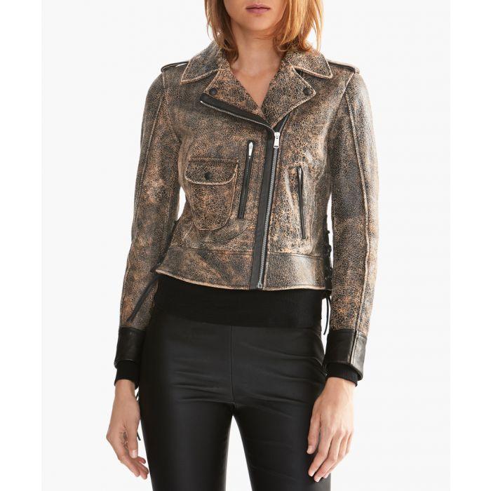 Image for Belstaff ELMELY BLOUSON Coats & Jackets 60109 MARBLED BROWN