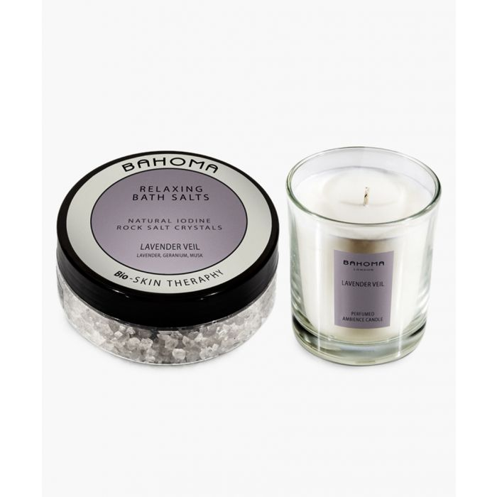 Image for 2pc Lavender Veil bath salts and candle