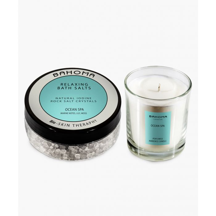 Image for 2pc Ocean Spa bath salts and candle