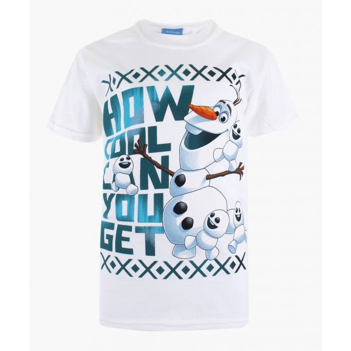 Image for Frozen Olaf white T-shirt