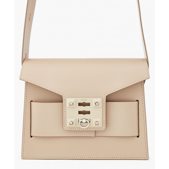 Image for Mila basic black leather bag