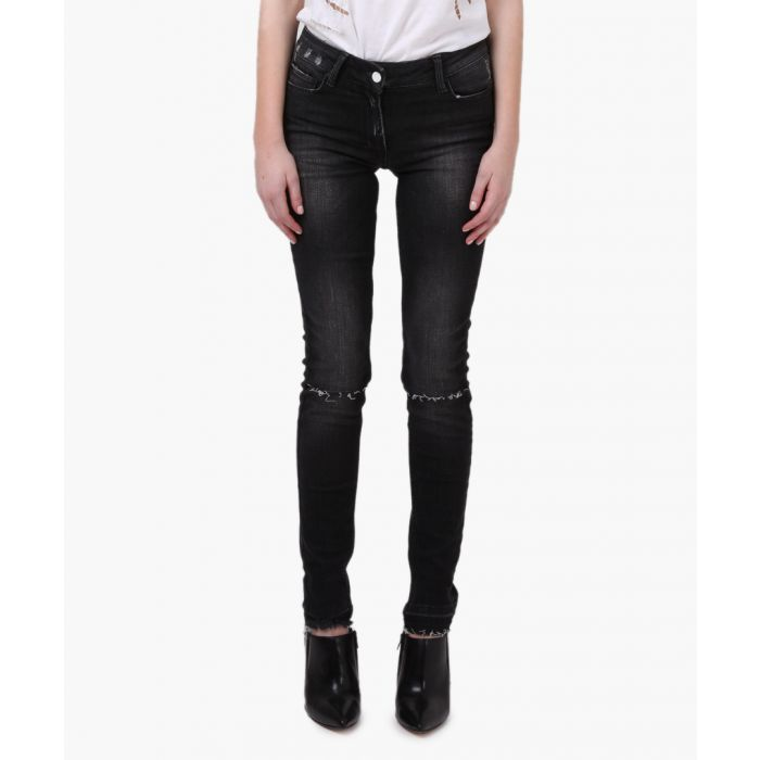 Image for Judas lacrimal black ripped jeans