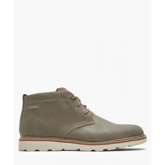 Image for Storm green leather Chukka boots