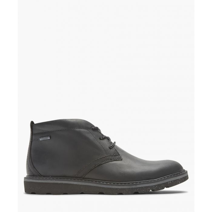 Image for Storm black leather Chukka boots