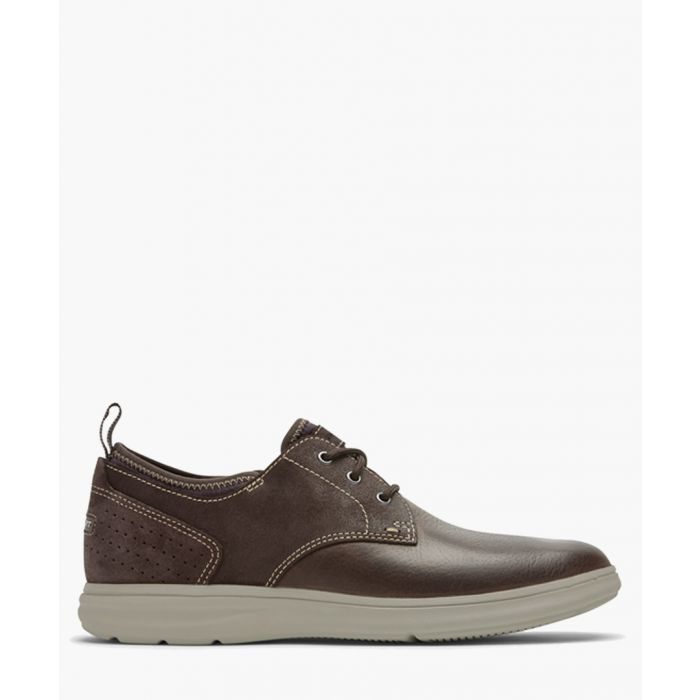 Image for Zaden brown leather Oxford shoes