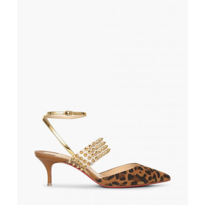 Image for Levita multi coloured leopard heels