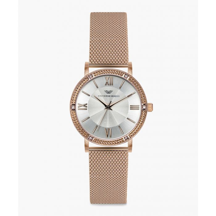Image for Liv rose gold-plated analogue watch