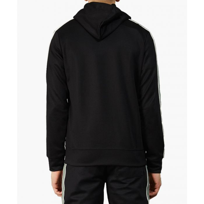 Image for Wise black stripe sleeve hoodie