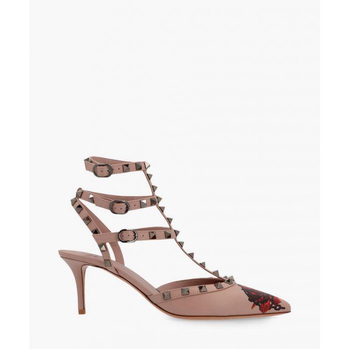 Image for Undercover beige rockstud heels