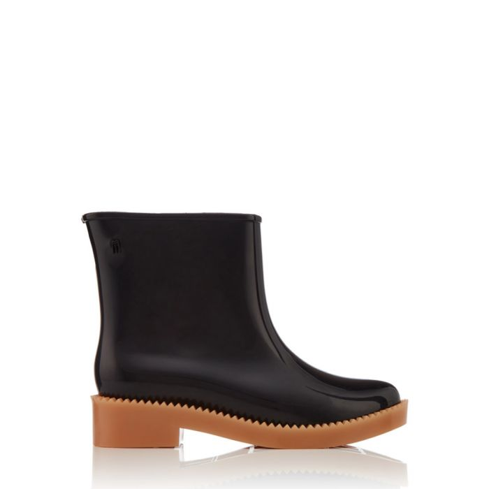 Image for Womens Rain Drop black ankle boots