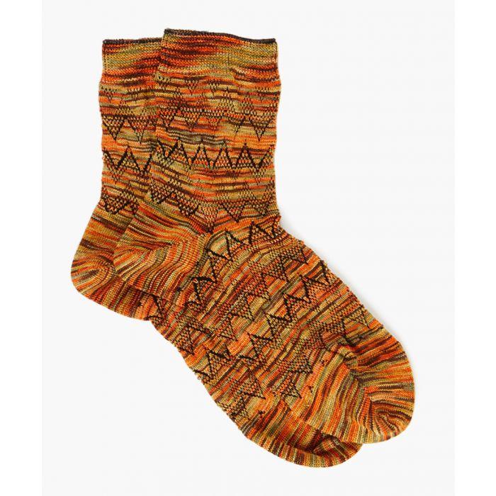 Image for Multi-coloured patterned socks