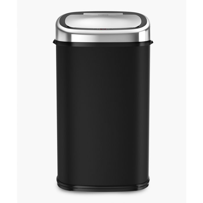 Image for Black square sensor bin 58L