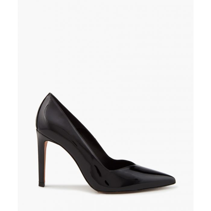 Image for Ella black pointed heels