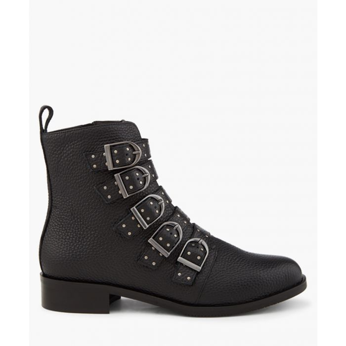 Image for Bronte black ankle boots