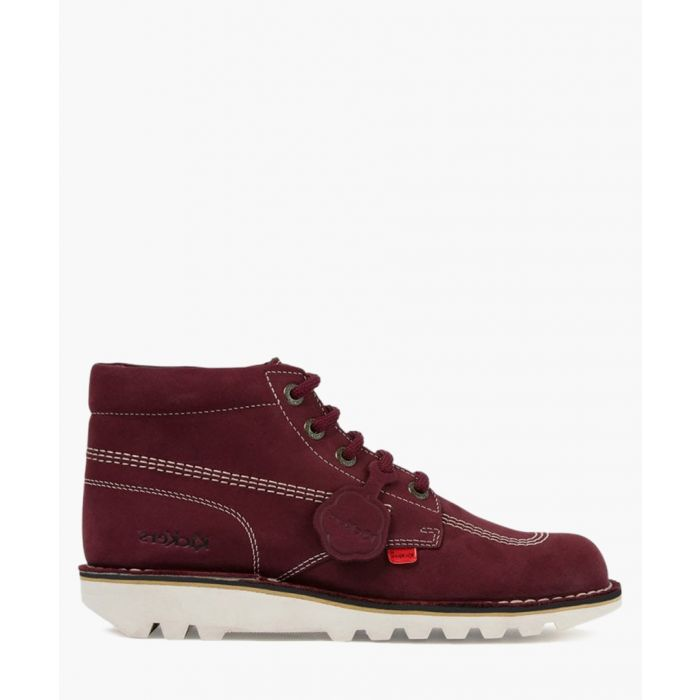 Image for Kick Hi burgundy leather boots Footwear/Boots/Ankle Boots burgundy