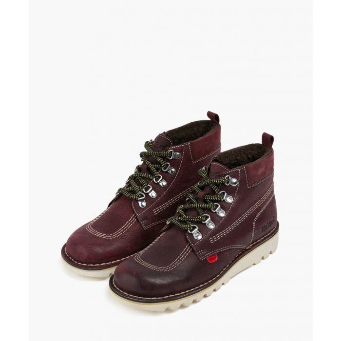 Image for Kick Hi burgundy ankle boots Footwear/Boots/Ankle Boots burgundy