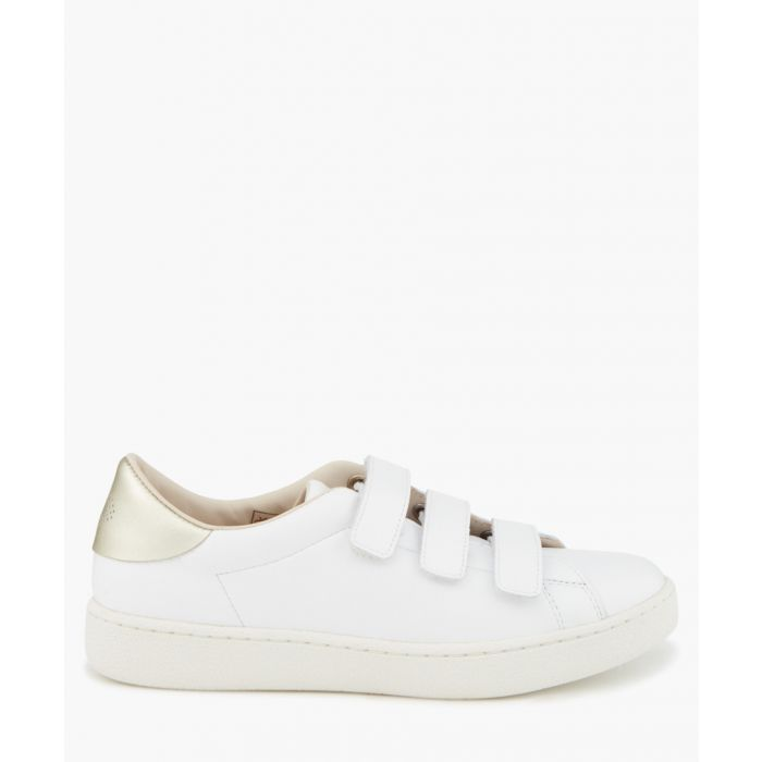 Image for Frida white velcro trainers