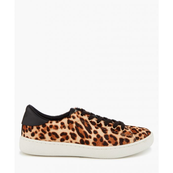 Image for Frida leopard print trainers