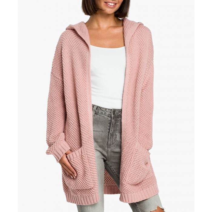 Image for Pink wool blend cardigan