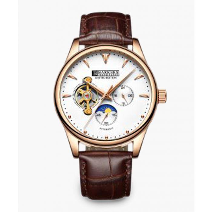 Image for Regatta brown moc-croc watch