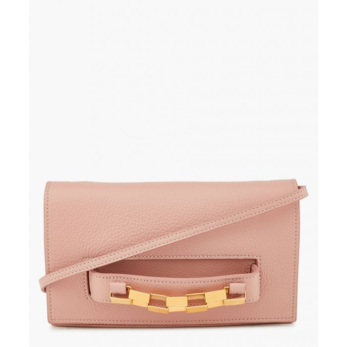 Image for Dani pink leather crossbody