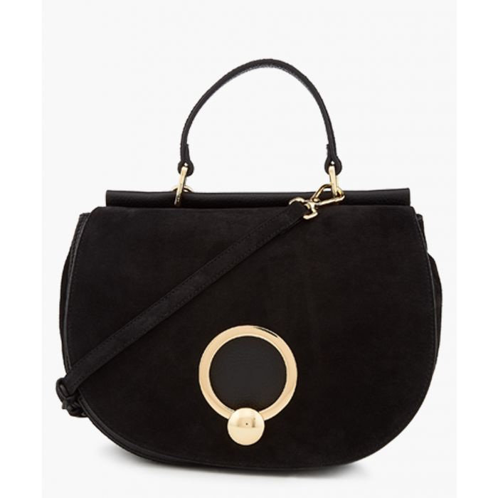 Image for Andrea black leather bag