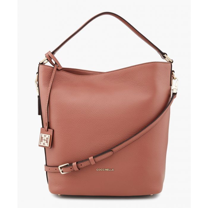 Image for Dafne terra leather bag