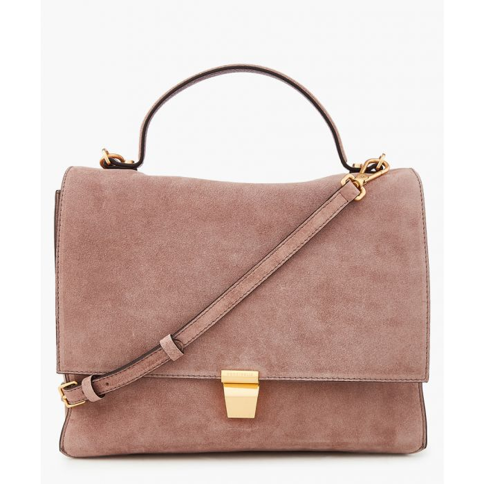 Image for Frances suede bag
