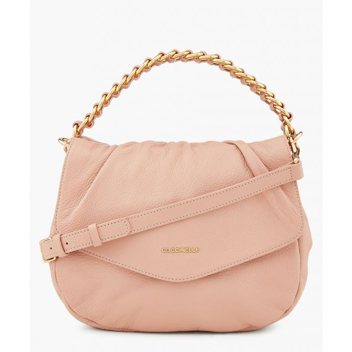 Image for Julie pink leather chain crossbody